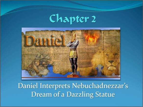 Daniel Interprets Nebuchadnezzar's Dream of a Dazzling Statue | The